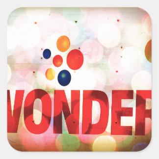 Wonder Square Sticker