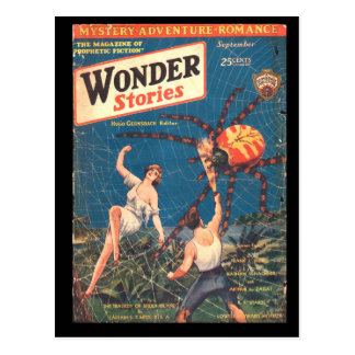 Wonder Stories v02 n04 (1930-09.Stellar)_Pulp Art Postcard