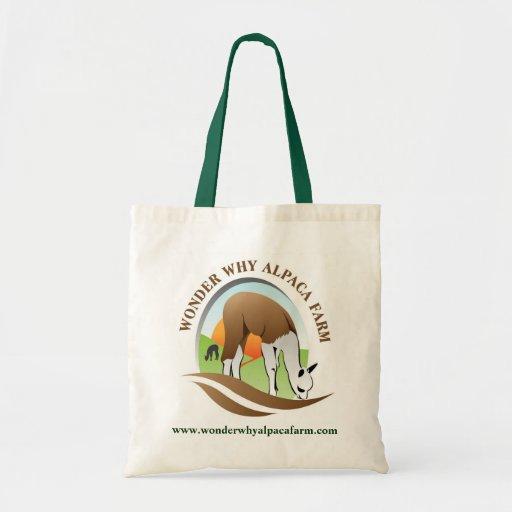 Wonder Why Bag