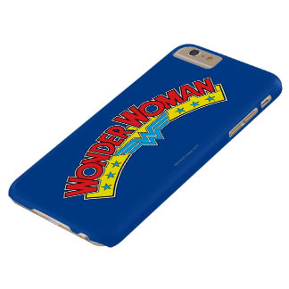 Wonder Woman 1987 Comic Book Logo Barely There iPhone 6 Plus Case