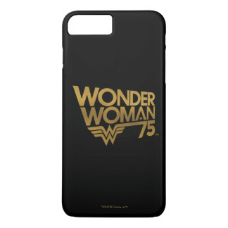Wonder Woman 75th Anniversary Gold Logo iPhone 8 Plus/7 Plus Case