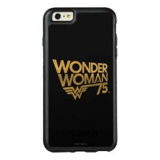 Wonder Woman 75th Anniversary Gold Logo OtterBox iPhone 6/6s Plus Case