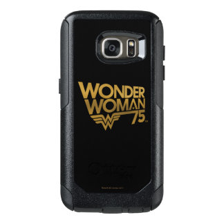 Wonder Woman 75th Anniversary Gold Logo OtterBox Samsung Galaxy S7 Case