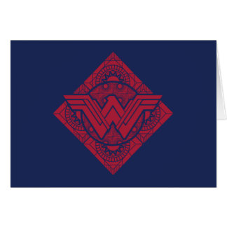 Wonder Woman Amazonian Symbol Card
