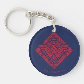 Wonder Woman Amazonian Symbol Key Ring