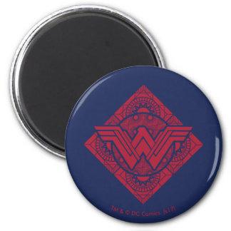 Wonder Woman Amazonian Symbol Magnet