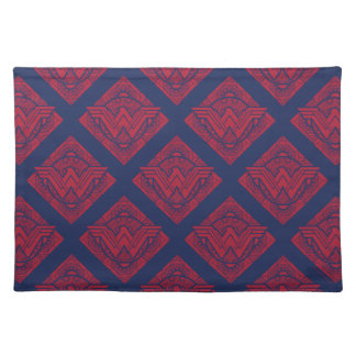 Wonder Woman Amazonian Symbol Placemat