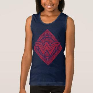 Wonder Woman Amazonian Symbol Singlet