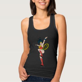 Wonder Woman Arms Raised Singlet