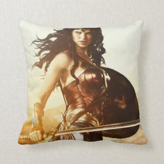 Wonder Woman At Sunset Cushion