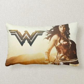Wonder Woman At Sunset Lumbar Cushion