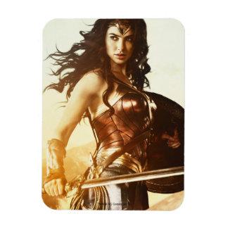 Wonder Woman At Sunset Magnet