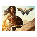 Wonder Woman At Sunset Postcard