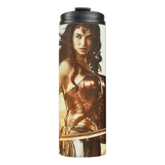 Wonder Woman At Sunset Thermal Tumbler