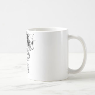 Wonder Woman B&W Lasso 2 Basic White Mug