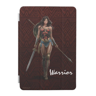 Wonder Woman Battle-Ready Comic Art iPad Mini Cover