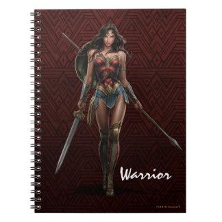 Wonder Woman Battle-Ready Comic Art Notebook