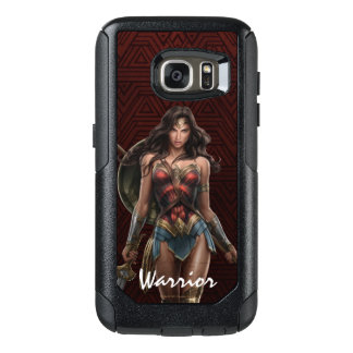 Wonder Woman Battle-Ready Comic Art OtterBox Samsung Galaxy S7 Case