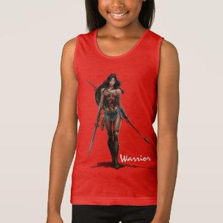 Wonder Woman Battle-Ready Comic Art Singlet