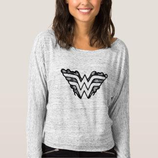 Wonder Woman Black Lace Logo T-Shirt