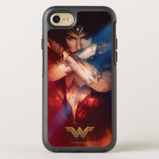 Wonder Woman Blocking With Bracelets OtterBox Symmetry iPhone 8/7 Case