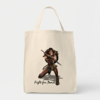 Wonder Woman Blocking With Bracelets Tote Bag