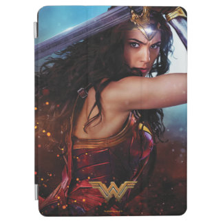 Wonder Woman Blocking With Sword iPad Air Cover
