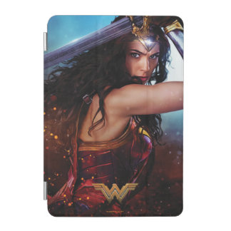 Wonder Woman Blocking With Sword iPad Mini Cover