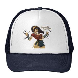 Wonder Woman Bombshell Trucker Hat