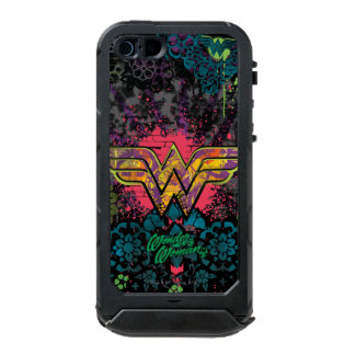 Wonder Woman Brick Wall Collage Incipio ATLAS ID™ iPhone 5 Case