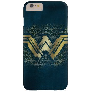 Wonder Woman Brushed Gold Symbol Barely There iPhone 6 Plus Case