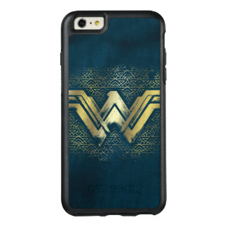Wonder Woman Brushed Gold Symbol OtterBox iPhone 6/6s Plus Case