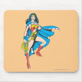 Wonder Woman Cape Mousepads