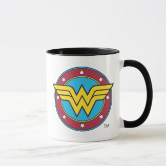 Wonder Woman Circle & Stars Logo