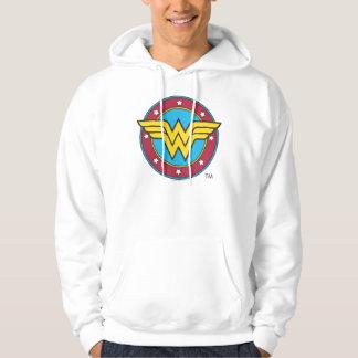 Wonder Woman | Circle & Stars Logo Hoodie