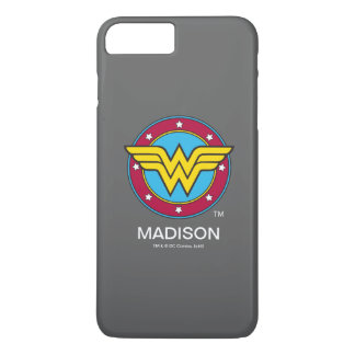 Wonder Woman | Circle & Stars Logo iPhone 8 Plus/7 Plus Case