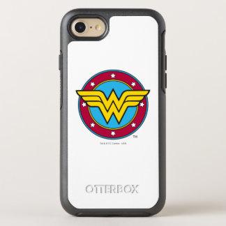 Wonder Woman | Circle & Stars Logo OtterBox Symmetry iPhone 8/7 Case