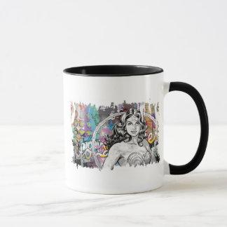 Wonder Woman Collage 6 Mug