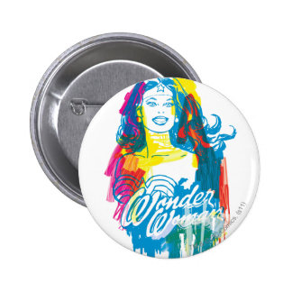 Wonder Woman Colorful 1 6 Cm Round Badge