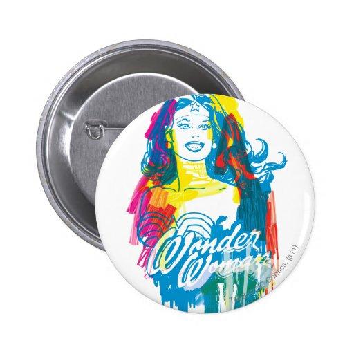 Wonder Woman Colorful 1 Pins
