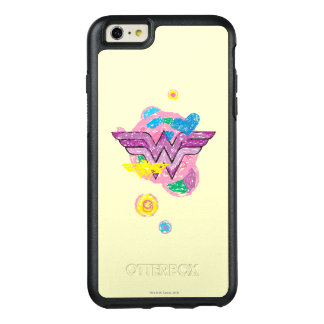 Wonder Woman Colorful Scribbles OtterBox iPhone 6/6s Plus Case