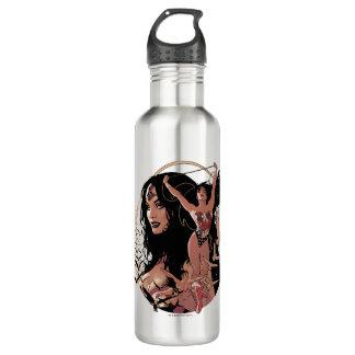 Wonder Woman Comic Cover #150: Triumphant 710 Ml Water Bottle