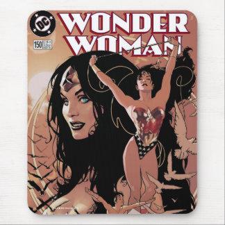 Wonder Woman Comic Cover #150: Triumphant Mouse Pad