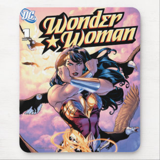 Wonder Woman Comic Cover #1 Mouse Pad