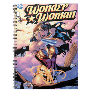 Wonder Woman Comic Cover #1 Notebooks