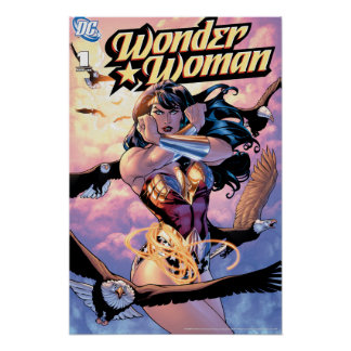 Wonder Woman Comic Cover #1 Poster