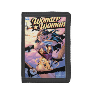 Wonder Woman Comic Cover #1 Tri-fold Wallets