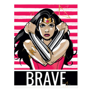 Wonder Woman Defend - Template Postcard