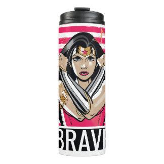 Wonder Woman Defend - Template Thermal Tumbler