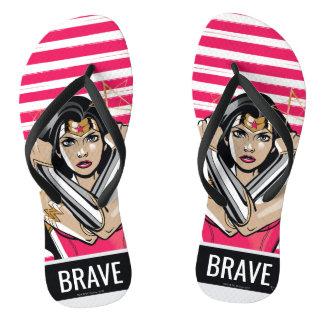 Wonder Woman Defend - Template Thongs